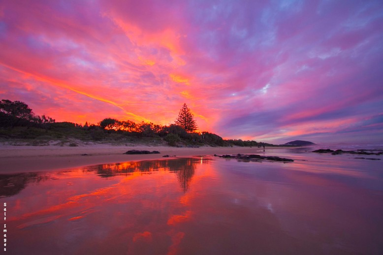 Mudjimba Beach Sunset Skies_1 copy